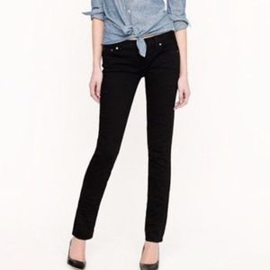 J Crew Matchstick black Skinny Jeans Ankle 28